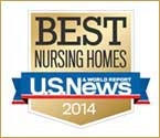 Best Nursing Homes 2014 Award