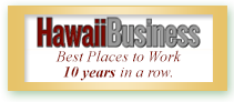 Hawaii Business Best Place to Work Honolulu HI