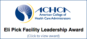 American College of Health Care Administrators Award