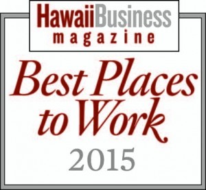 Best Place to Work 2015 Award